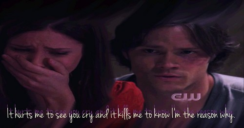 Bram - It hurts me to see you cry and it kills me to know I'm the reason why.