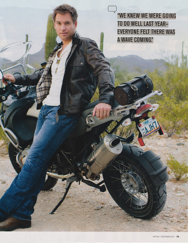 CBS Watch Magazine - michael-weatherly Photo