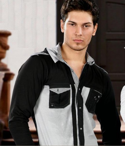 Hottest Actors wallpaper probably containing an outerwear called Cagatay Ulusoy
