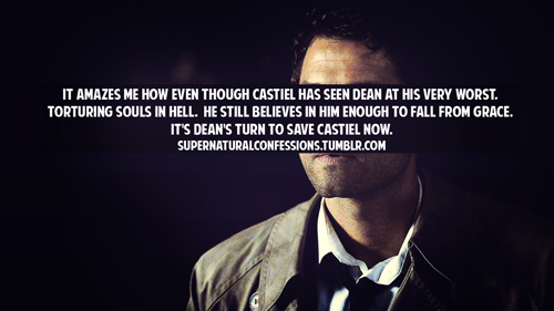 Castiel images Castiel Confessions wallpaper and background photos