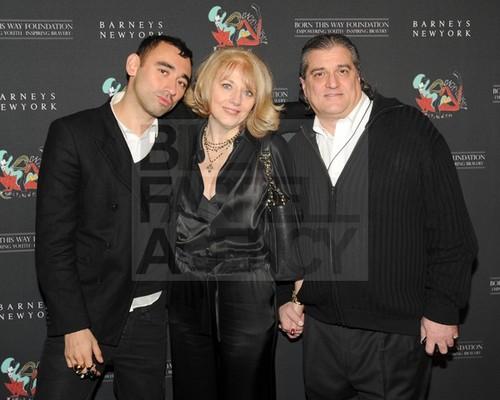 Cynthia and Joe Germanotta at Gaga's Workshop