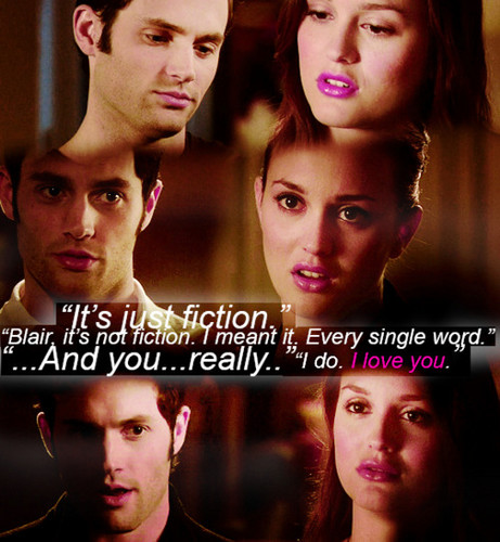 Dan and Blair wallpaper containing a portrait entitled Dan ♥ Blair
