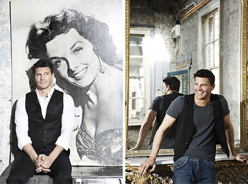 David Boreanaz in a Photoshoot With Ellis Parrinder