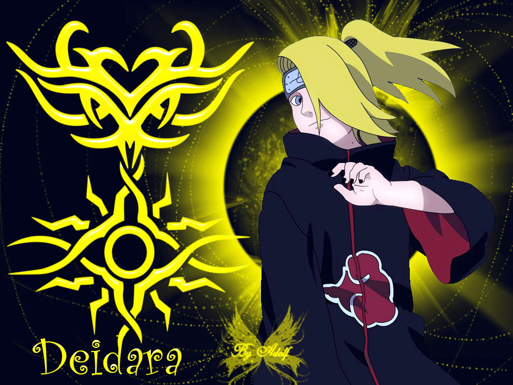 deidara akatsuki wallpaper   imgkid     the image