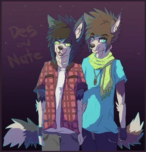 Des&Nate Anthro lobos