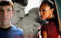 Dreamed of Paradise  - spock-and-uhura wallpaper