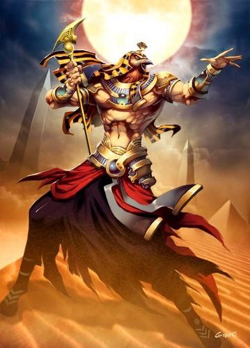 Egyptian gods C: