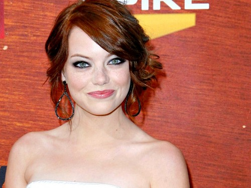 Emma Stone پیپر وال containing skin called Emma Stone Wallpaperღ