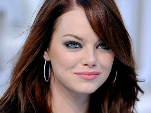 Emma Stone wallpaper with a portrait entitled Emma Stone Wallpaperღ