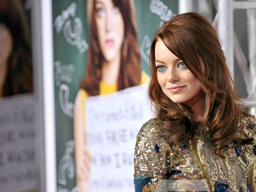 Эмма Стоун Обои probably containing a portrait called Emma Stone Wallpaperღ