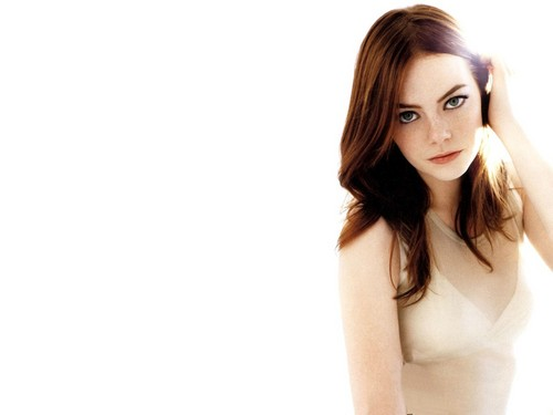 Emma Stone wallpaper containing a portrait and skin titled Emma Stone Wallpaperღ