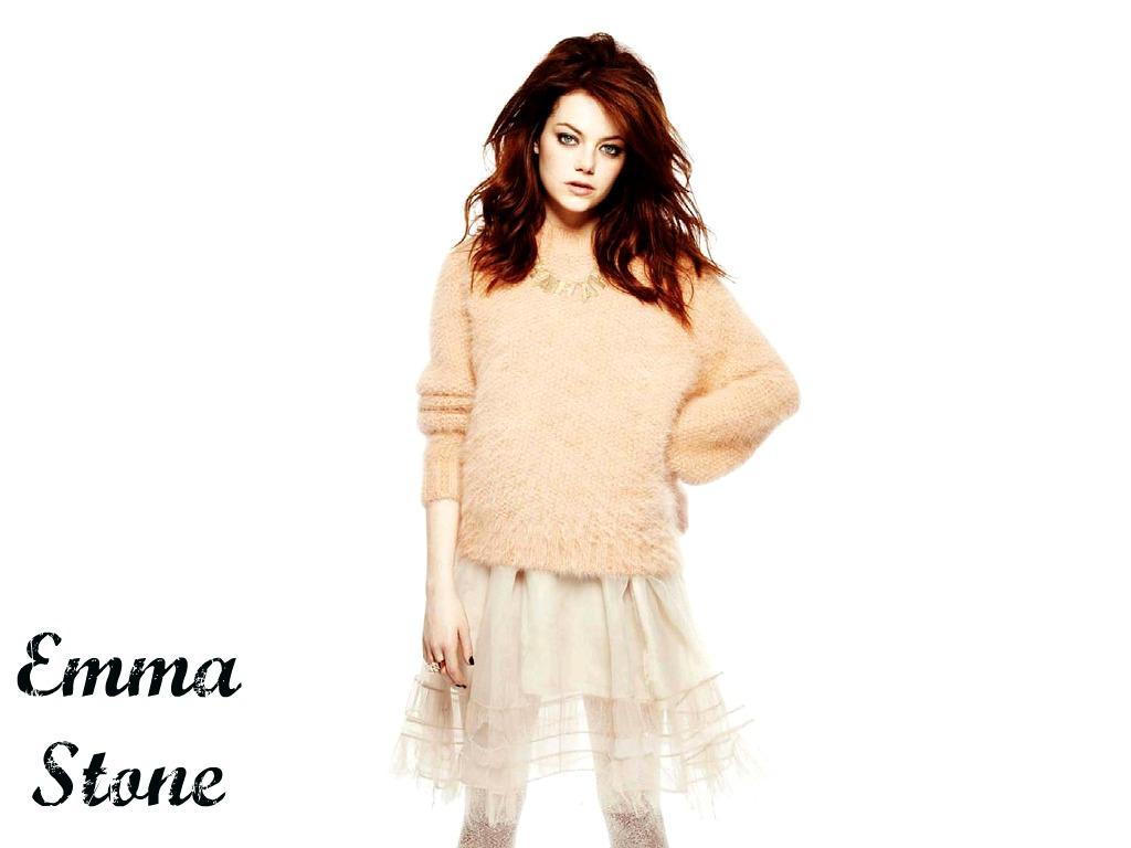 Emma Stone Wallpaperღ