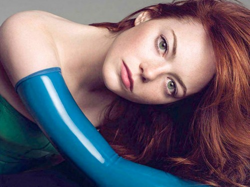 emma stone fondo de pantalla probably with skin and a portrait entitled Emma Stone Wallpaperღ