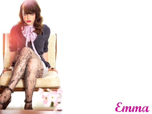 Emma Stone wallpaper containing a hip boot called Emma Stone Wallpaperღ