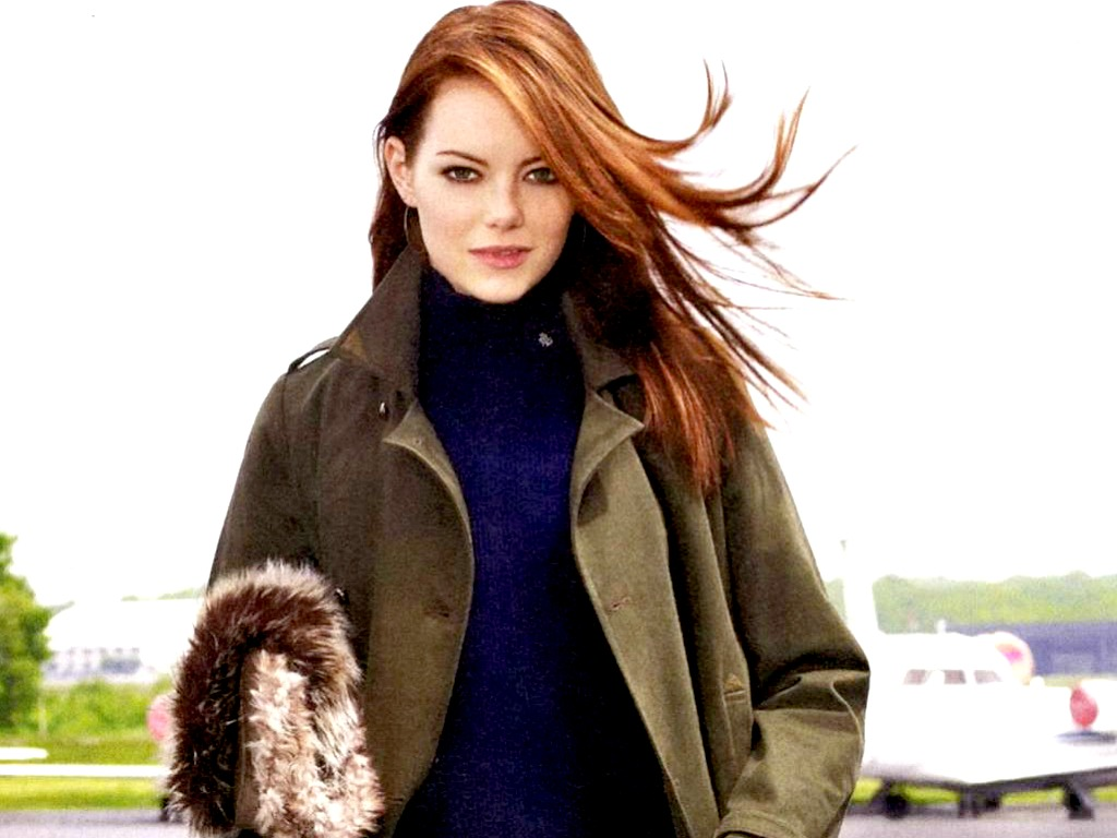 Gold Wallpaper Emma Stone Sexy Wallpapers