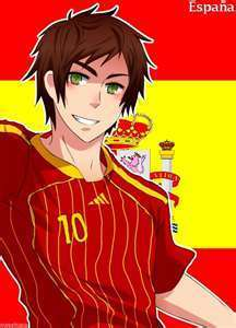 Hetalia Spain fond d'écran containing animé entitled España
