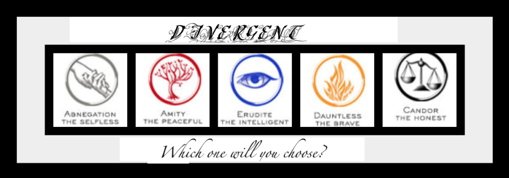 Factions - Divergent Fan Art (27016744) - Fanpop