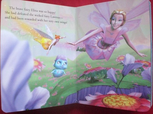 From Barbie Mermadia book