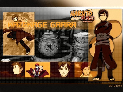 Gaara of Suna wallpaper containing anime entitled Gaara