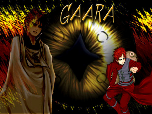 Gaara of Suna wallpaper probably with anime called Gaara