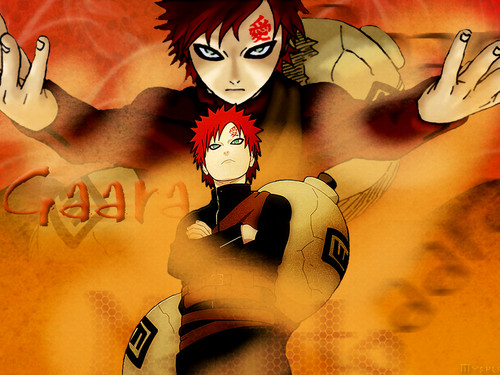 Gaara of Suna wallpaper probably with anime titled Gaara