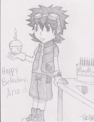 Happy Birthday Ana!