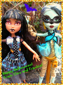 Happy Halloween! From Cleo And Frankie! - monster-high photo