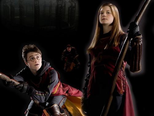 Harry,Ginny, ron