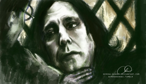 Harry and Snape -- Your Mother's Eyes