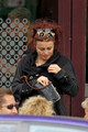 Helena at brunch - helena-bonham-carter photo