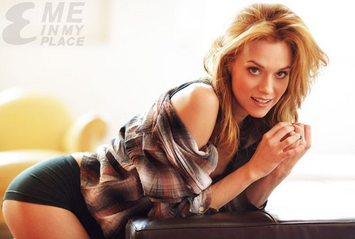 Hilarie Burton wallpaper with a portrait titled Hilarie Burton | Esquire Magazine - Me in My Place