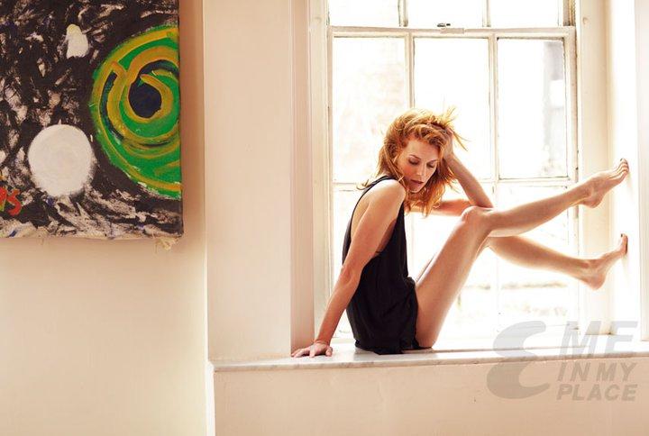 Hilarie बर्टन | Esquire Magazine - Me in My Place