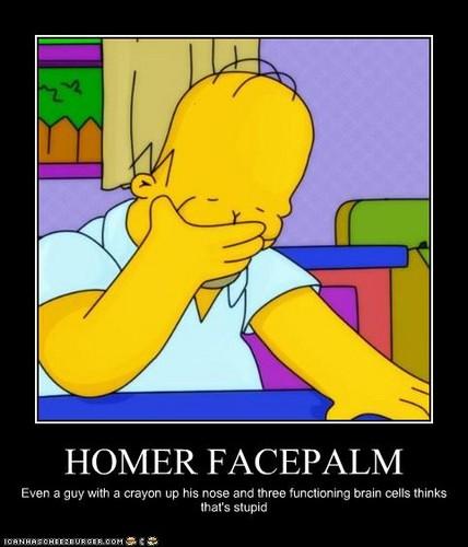 Homer Face-palm