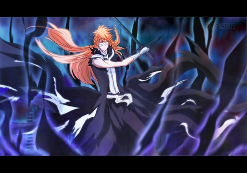 Bleach Anime wallpaper possibly with anime titled ICHIGO