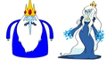 Ice King-Ice Queen - gender-swapping fan art