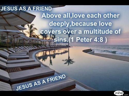Hesus AS A FRIEND pader PAPER