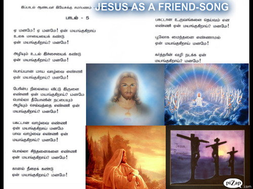 JESUS AS A FRIEND WALL PAPER - christianity Photo