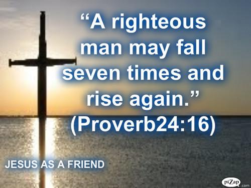 Jesus AS A FRIEND tường PAPER