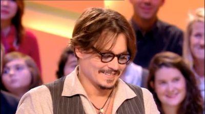 "Johnny Depp ""Grand Journal"" - 24/11/2011"
