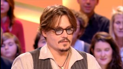"Johnny Depp ""Grand Journal"" - 24/11/2011"