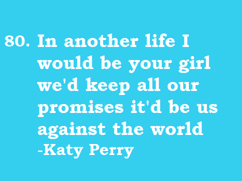 Katy Lyrics