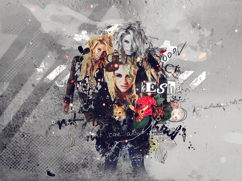 Ke$ha wallpaper possibly with a ski resort called Kesha!