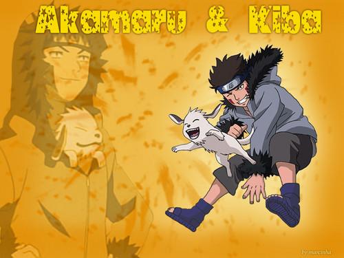kiba inuzuka karatasi la kupamba ukuta containing anime entitled Kiba ♥ ♥ ♥