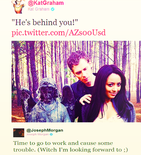 Klonnie Tweets - klaus-and-bonnie Photo