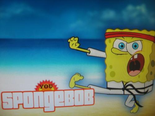 Kung Fu SpongeBob
