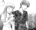 Kyo and Tohru - fruits-basket screencap