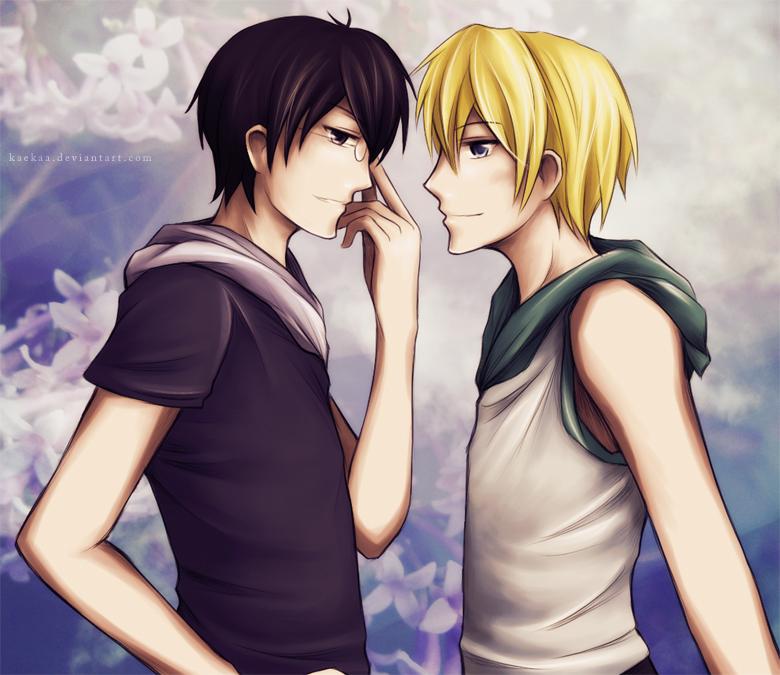 Kyoya and Tamaki
