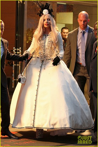 Lady Gaga of Gaga's Workshop on Monday (November 21) in New York City
