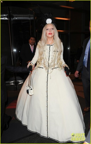 Lady Gaga of Gaga's Workshop on Monday (November 21) in New York City - lady-gaga Photo