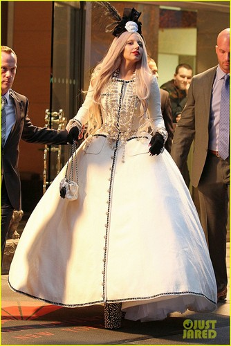 Lady Gaga of Gaga&#39;s Workshop on Monday (November 21) in New York City - lady-gaga Photo